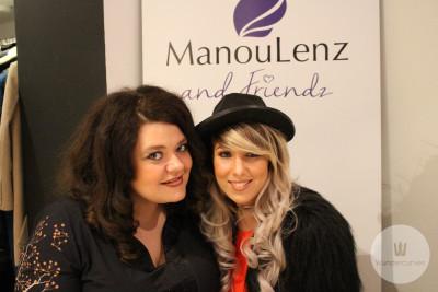 VIP-Gäste: Tallana Gabriel und Annemarie Eilfeld