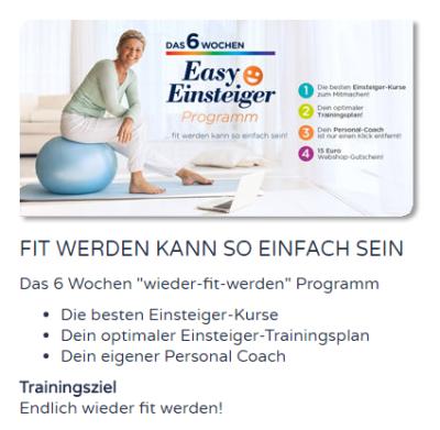 Wundercurves New Moove Trainingsprogram