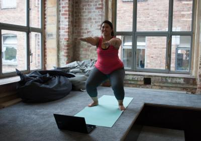 Rückenkurs-Übung