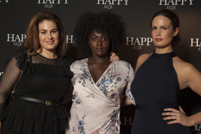 Finalistinnen Curvy Supermodel-Sendung 2017 Plus Size Fashion Days Hamburg