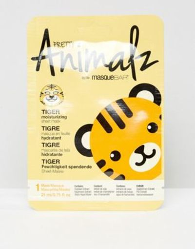 Tuchmaske mit Tiger-Gesicht