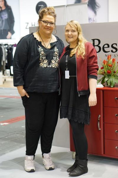 Christiane Seitz und Ilka Bessin