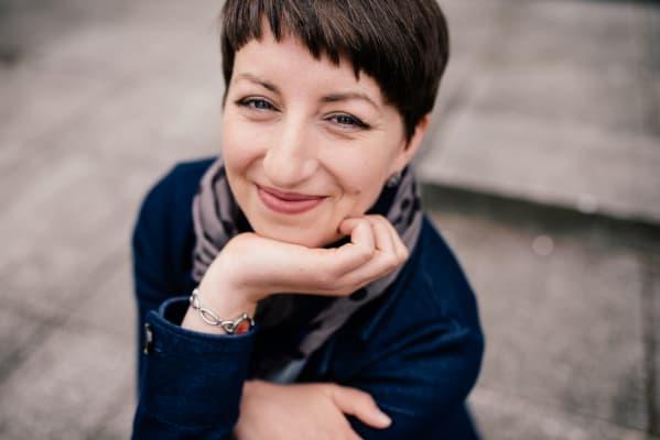 Sophie Krüger als Farbenratgeber