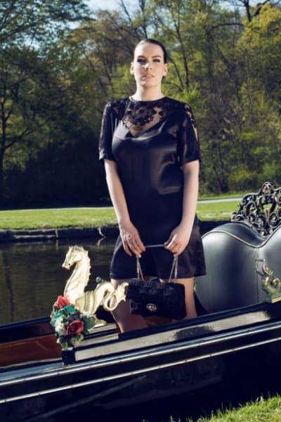Katherina Stahn auf der Fashion Week Berlin