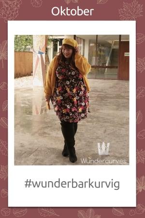 #wunderbarkurvig Outfitwettbewerb bei Wundercurves Oktober