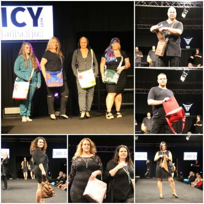 Trendige Taschen von ICY Look, Liebju und HANG TOUGH präsentiert auf der Misswahl 2016