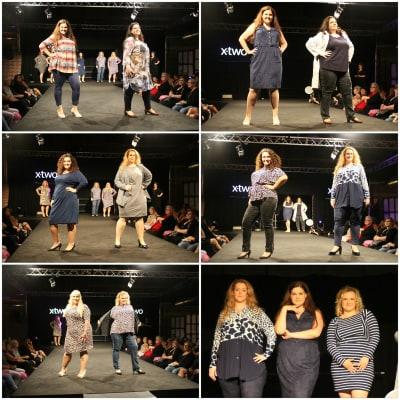 Angesagte Plus-Size-Fashion von xtwo auf der Fräulein Kurvig präsentiert