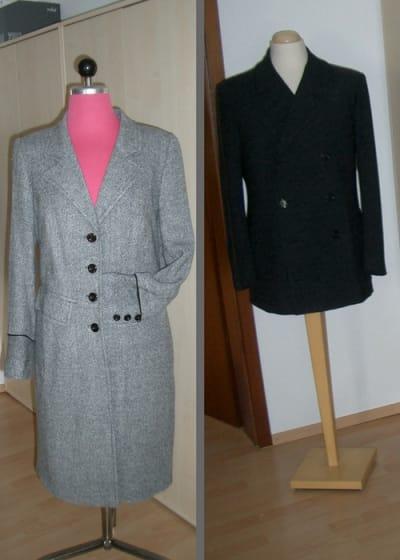 Hochwertige Mäntel und Blazer