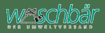 Waschbär Umweltversand Logo