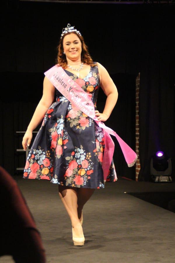 Gewinnerin der Fräulein Kurvig 2015 ist Laura Goymann