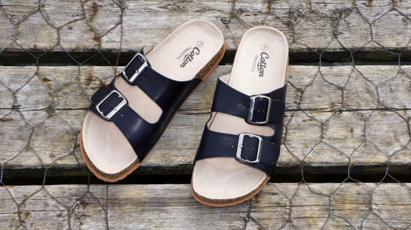 new styles b7a0e 55002 Sandalen in Weite H: Schuhe für breite Füße