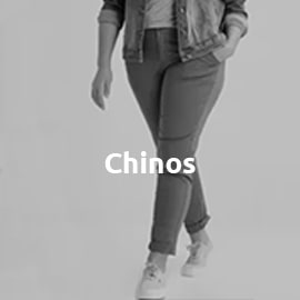 Chinos in großen Größen