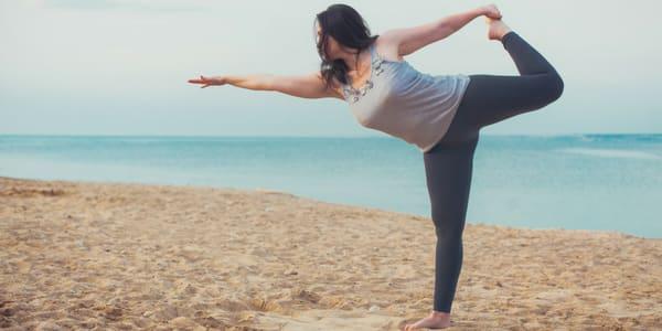 Sport für Dicke Yoga