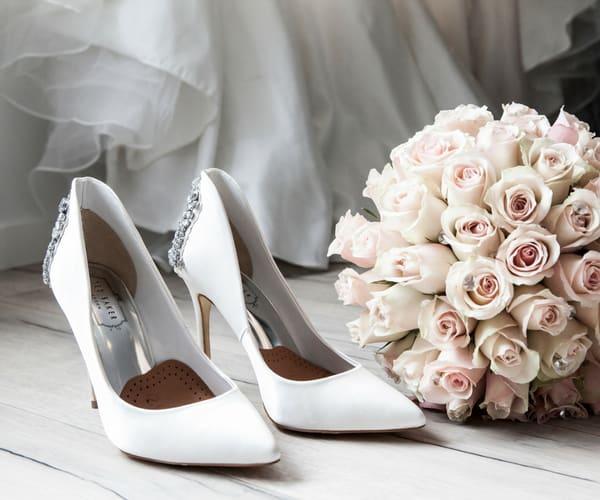 Brautschuhe für Brautkleider große Größen