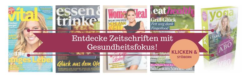 Wundercurves Gesundheitszeitschriften entdecken