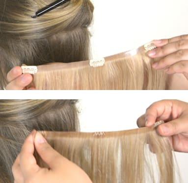 Mia&Pia Haarverlängerung Clip-Ins