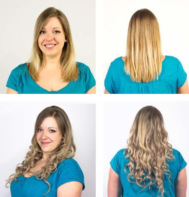 Mia & Pia Haarverlängerung Clip-Ins