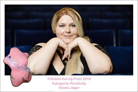 Gewinner der Kategorie Positivity ist Nicole Jäger
