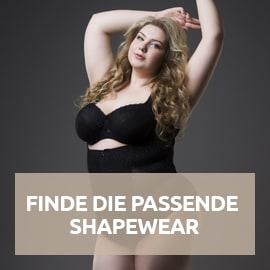 Finde die passende Shapewear