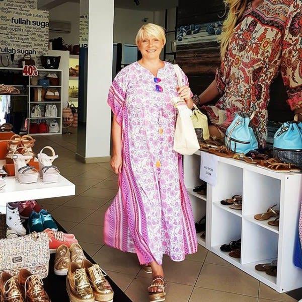Hippie Kleid große Größen