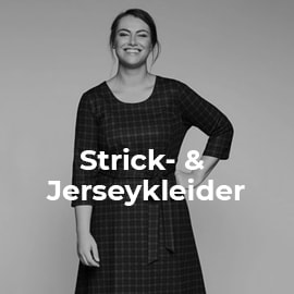 Strick- und Jerseykleider in großen Größen