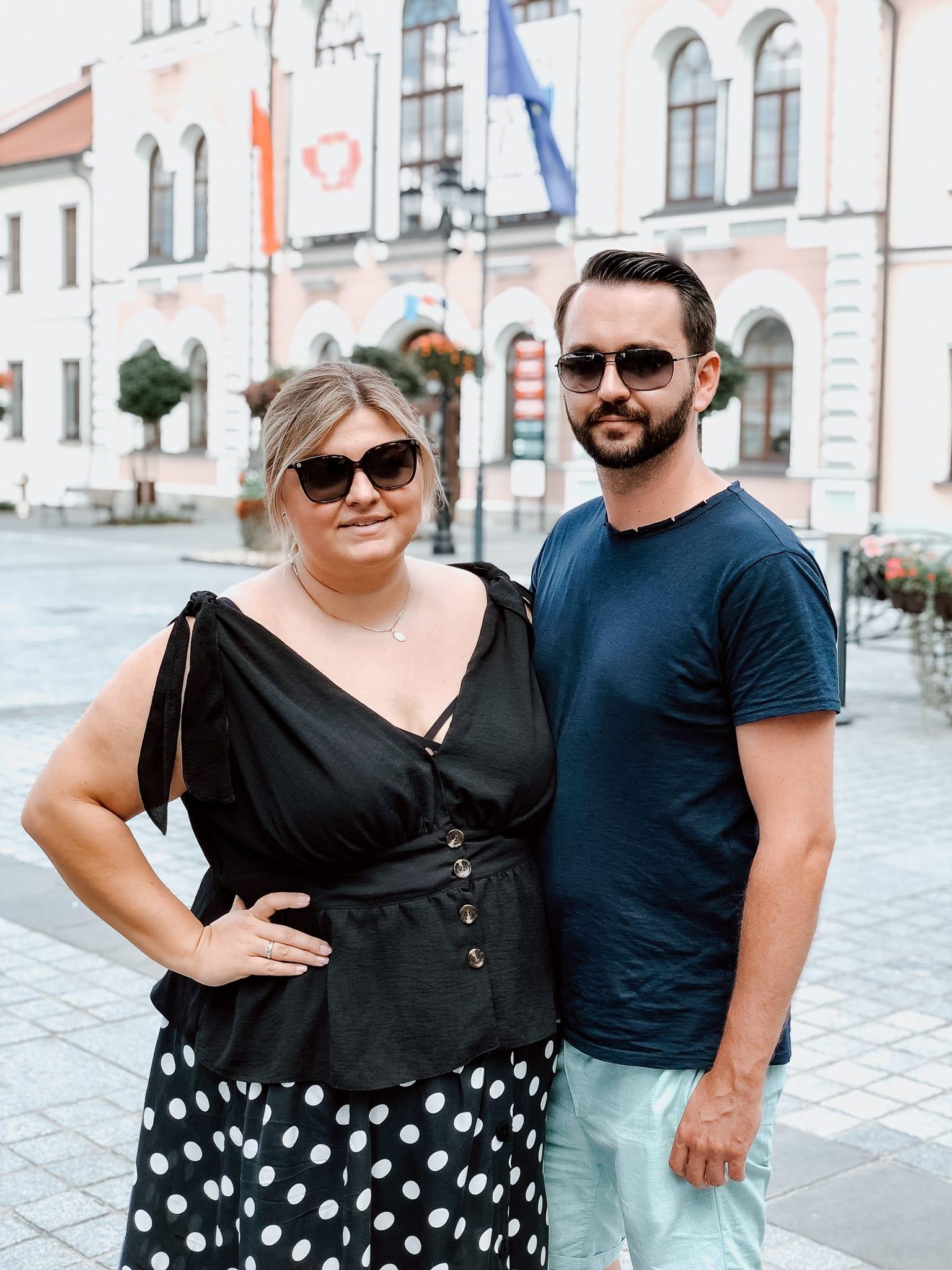 Ela mit ihrem Ehemann