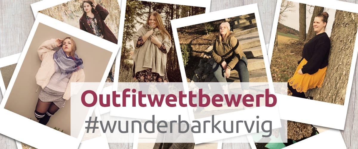 Outfitwttbewerb bei Wundercurves