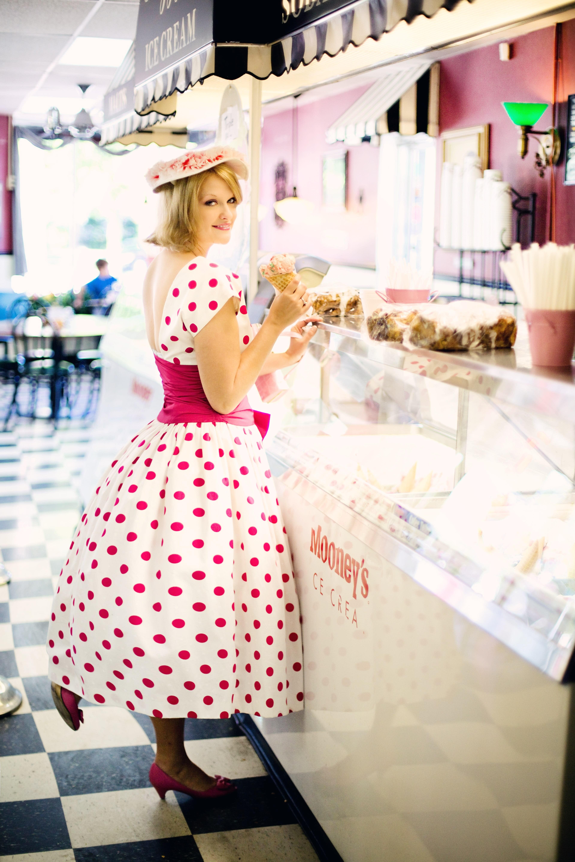 Rockabilly-Kleid große Größe