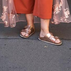 Sandalen in Weite H: Schuhe für breite Füße