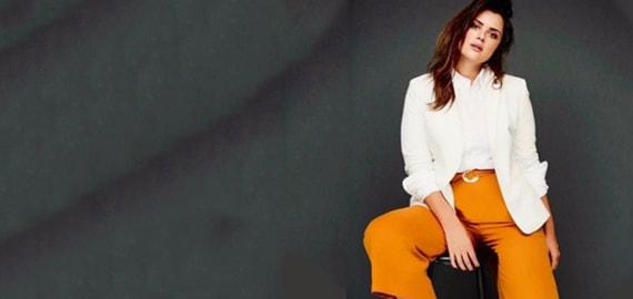 Mode für große Frauen: Tipps und Tricks