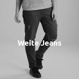 Weite Jeans in großen Größen