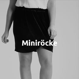 Miniröcke in großen Größen