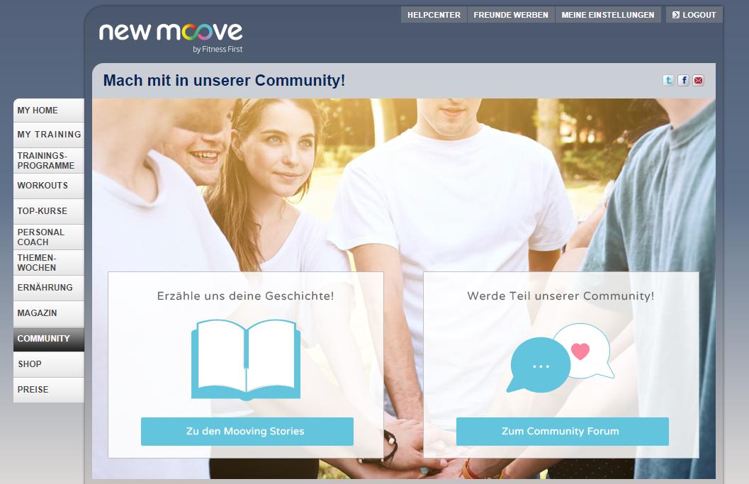 new moove Community
