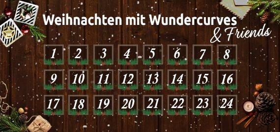 Wundercurves Adventskalender