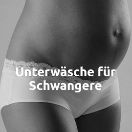 Unterwäsche für Schwangere in großen Größen