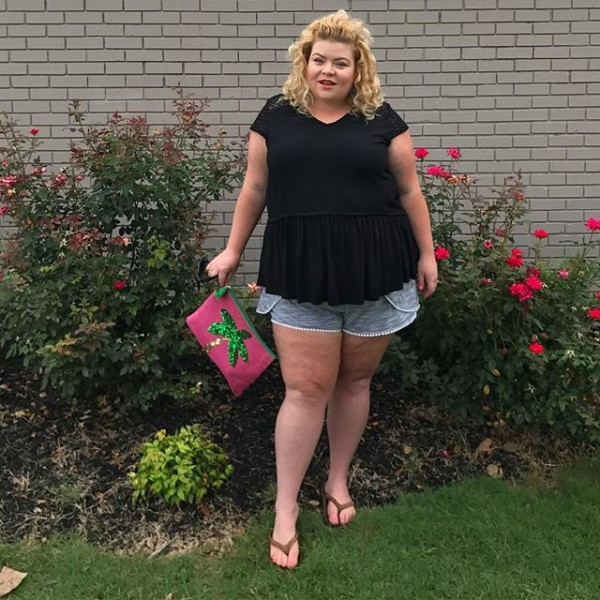 Festival look - shorts und shirt