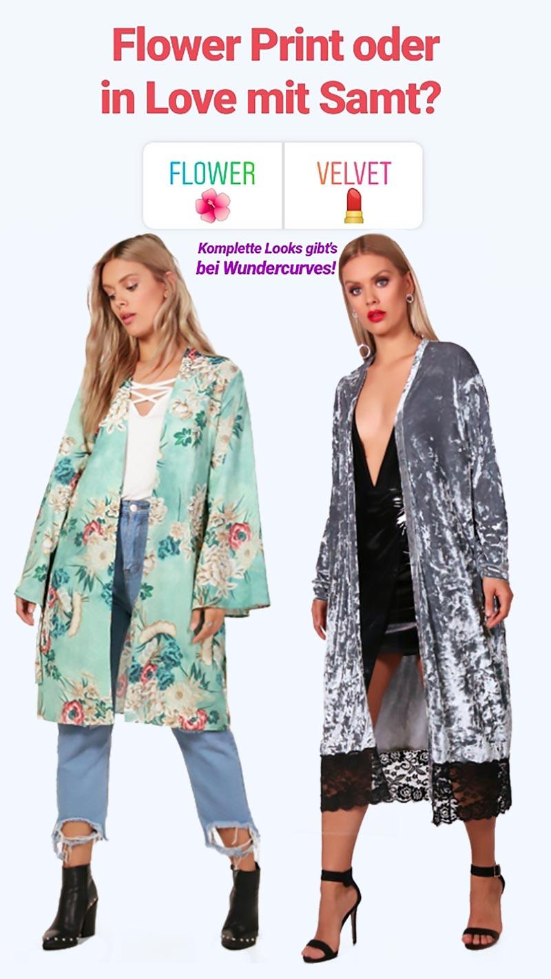 Plus Size Festival Look Kimono