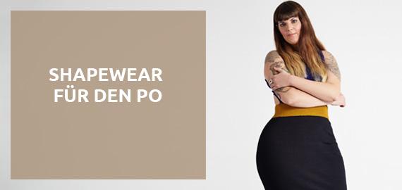 Figurformende Unterwäsche für den Po