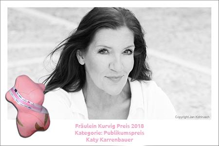 Gewinner der Kategorie Publikumspreis ist Katy Karrenbauer