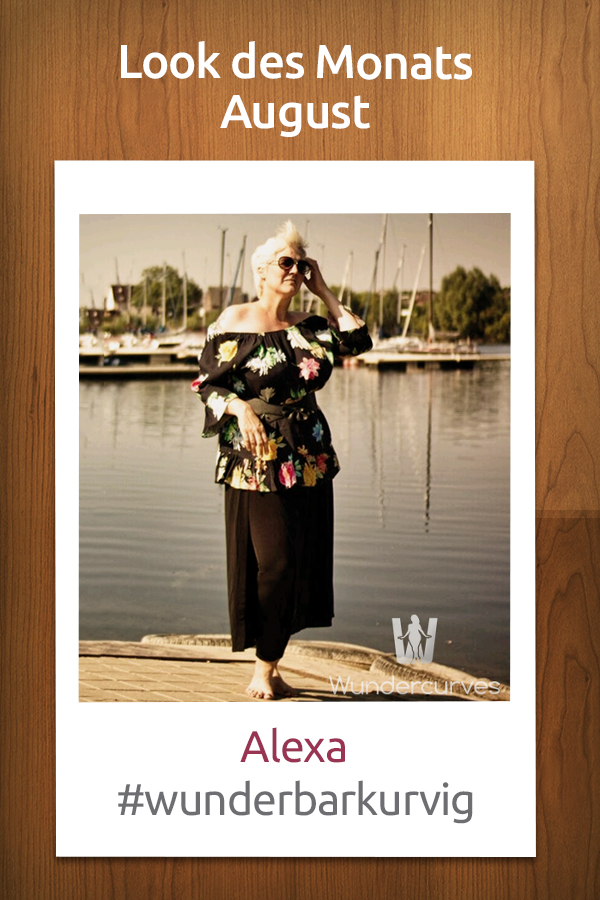 Gewinnerin Look des Monats August