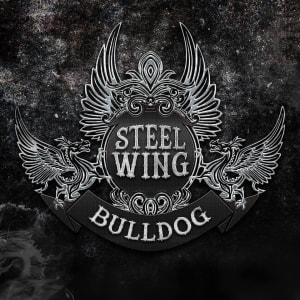 French Bulldog - Steel Wing