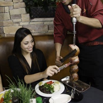 Restaurant Pampas Las Vegas Night Strip Helicopter Dinner Combo Tour