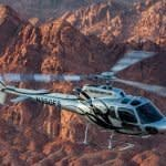Grand Canyon Helicopter Tours helicopter flying