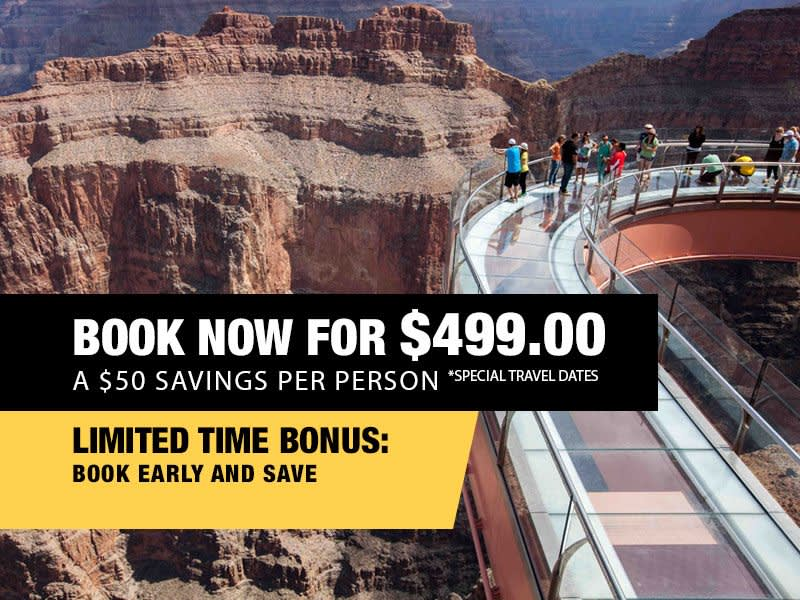 VIP Skywalk Express Book Now From $499.00
