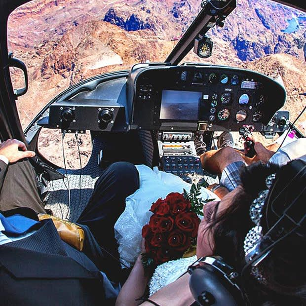 GRAND CANYON HELICOPTER WEDDING PACKAGE