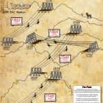 bootleg canyon zipline map