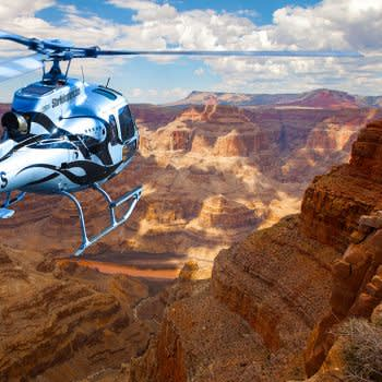 Grand Canyon West Hualapai Ranch Overnight Cabin Stay by Helicopter & Ground Tour