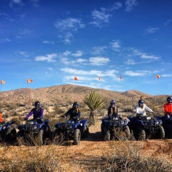LAS VEGAS ATV MOJAVE DESERT ADVENTURE TOUR