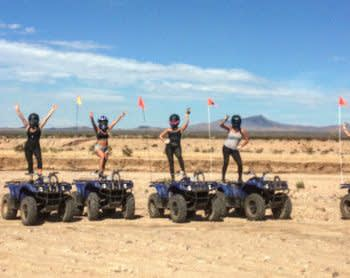 GROUP LAS VEGAS ATV MOJAVE DESERT ADVENTURE TOUR