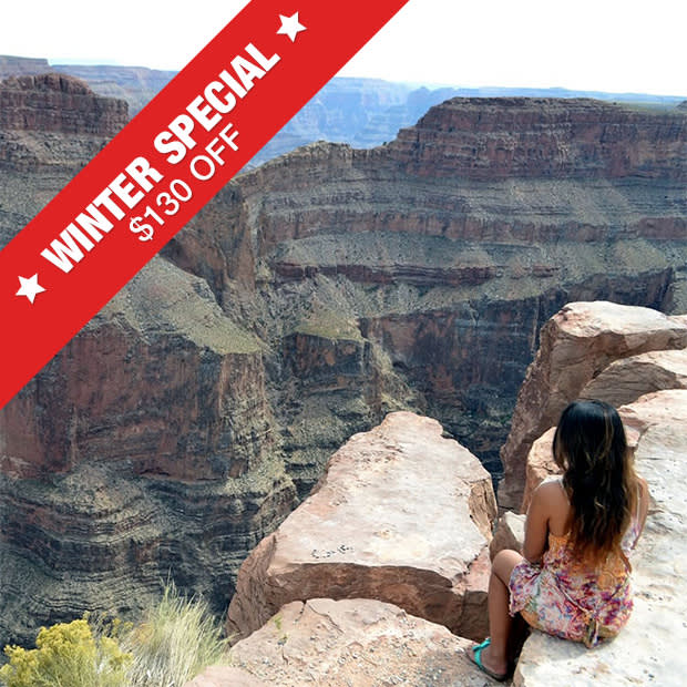 discount Grand Canyon Helicopter Eagle Point Rim Landing Tour